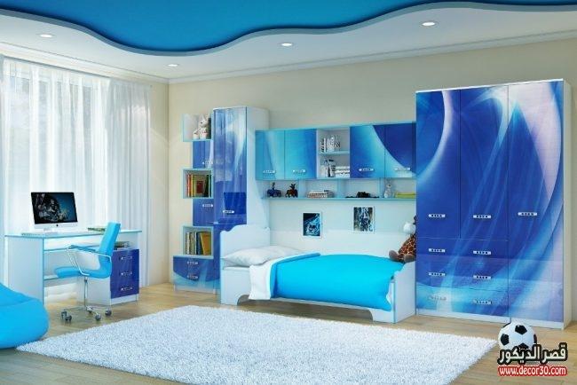 تصميمات غرف نوم مودرن للأطفال