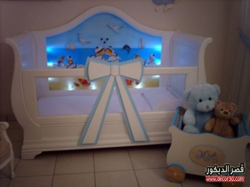 غرف نوم اطفال اولاد بيبي
