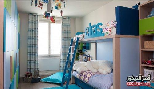 غرف نوم اطفال اولاد سريرين