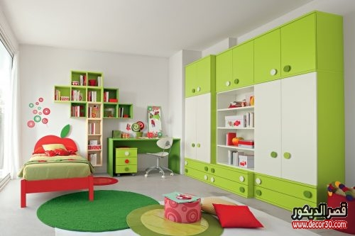 غرف نوم اطفال اولاد كبار