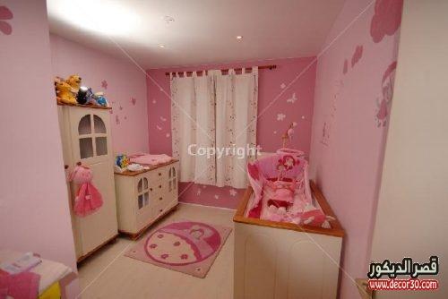 غرف نوم اطفال بنات بيبي