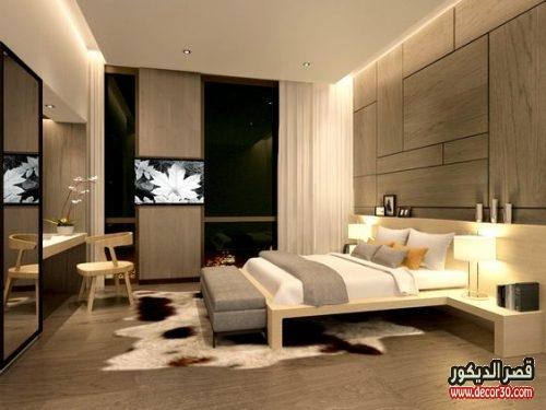 غرف نوم تركي بني