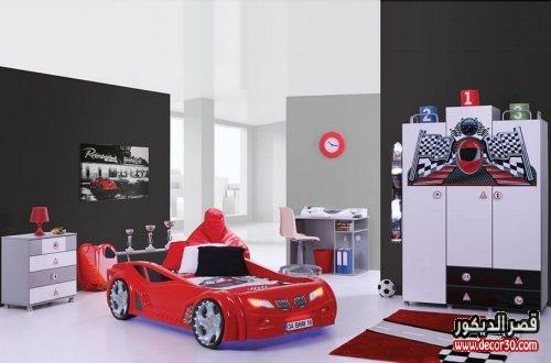 غرف نوم سيارات للاولاد