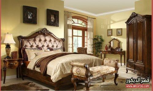 غرف نوم صيني كلاسيك
