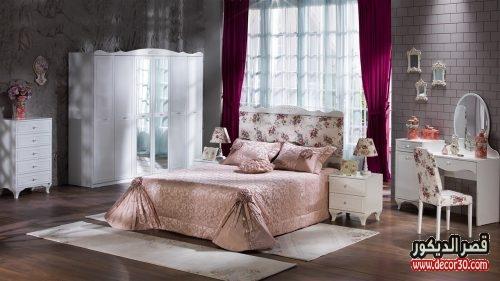 غرف نوم كاملة بالدولاب والتسريحة مودرن