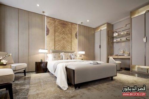 غرف نوم للعرسان 2018