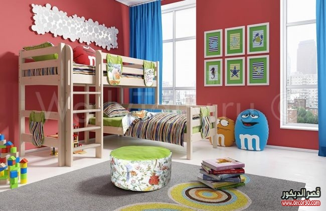 غرف أطفال تصاميم حصرية
