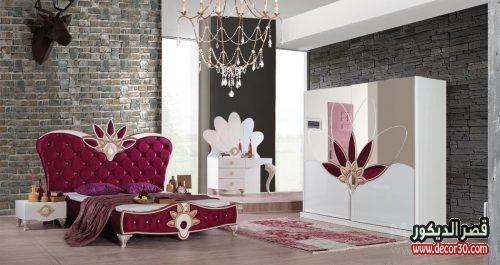 ديكورات غرف مودرن للعرسان كتالوج احدث 100 تصميم اوض كاملة   قصر