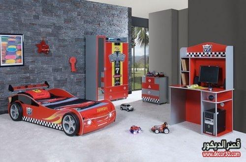 غرف نوم اولاد سيارات