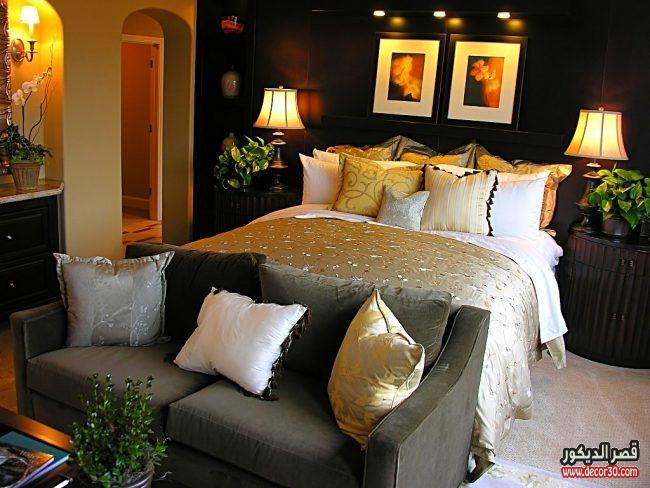 تصاميم ديكورات غرف نوم فخمة