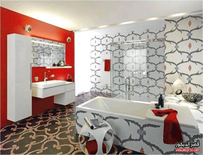 تصاميم سيراميك مودرن حمامات