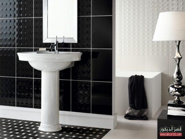 سيراميك حمامات تصاميم جديدة