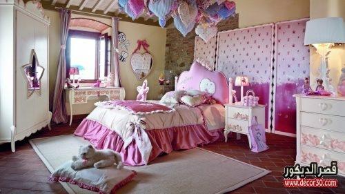 الوان حوائط غرف اطفال