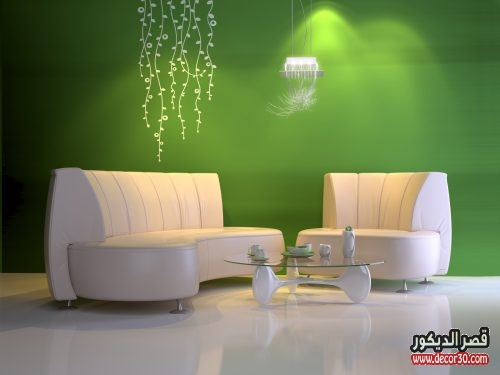 طلاء جدران living room