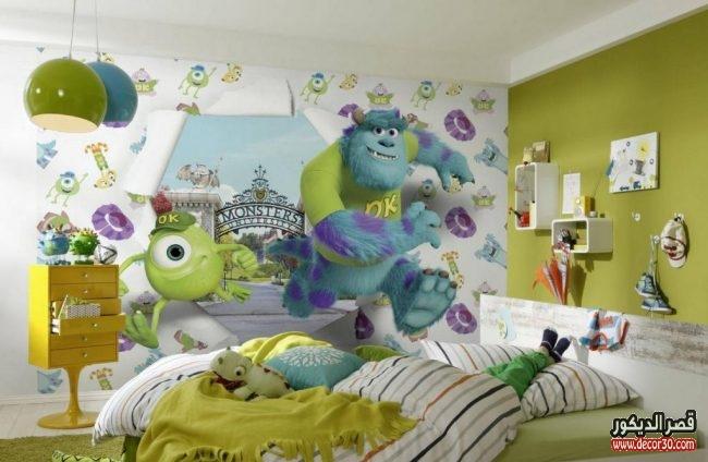 ورق حوائط غرف أطفال