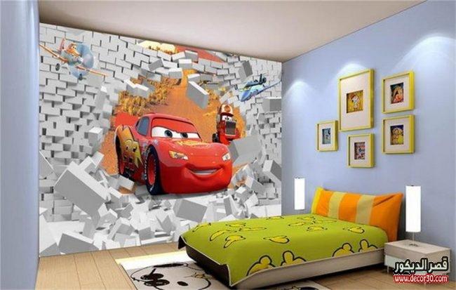 صور ورق جدران غرف أطفال حديثة