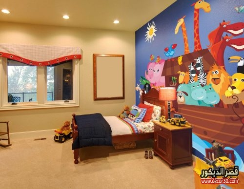 دهانات غرف اطفال حوائط