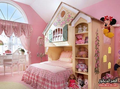 دهانات غرف نوم اطفال بنات