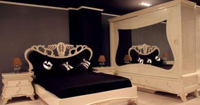 ديكورات غرف مودرن للعرسان بالدولاب