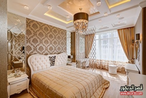 ديكورات غرف مودرن للعرسان فخمة