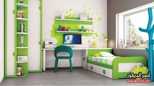 ديكورات غرف نوم اولاد