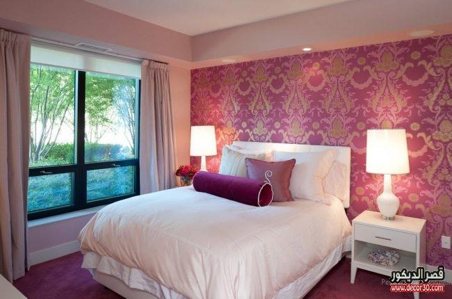 تصاميم ورق حوائط غرف نوم