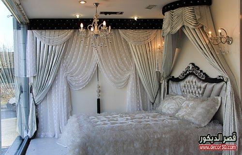 ستائر غرف النوم للعرائس كلاسيك 2018