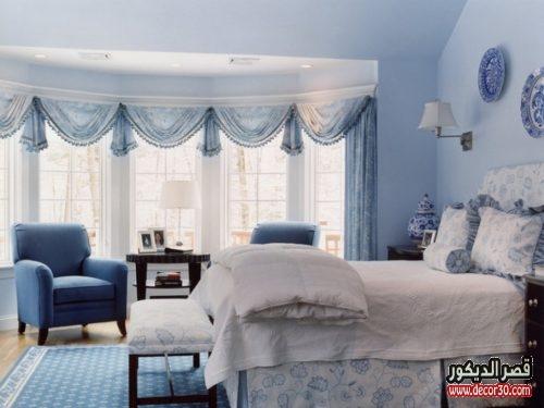 ستائر غرف نوم بسيطة كلاسيك