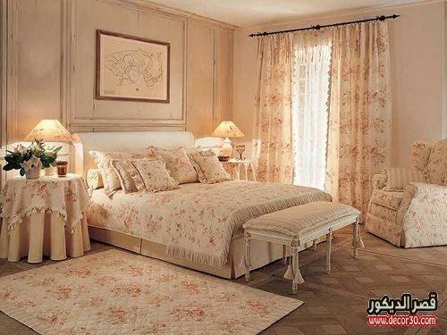 ستائر غرف نوم بسيطة شيك