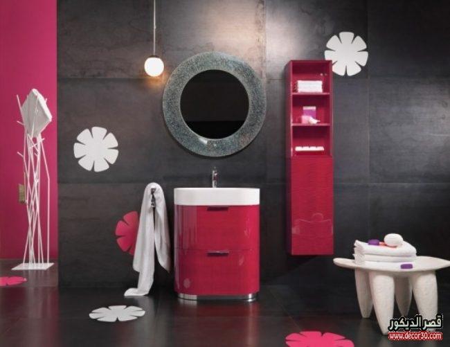 تصميمات سيراميك جدران حمامات