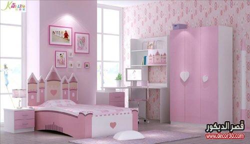 صور الوان دهانات غرف نوم اطفال بنات