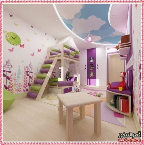 صور جبس بورد غرف اطفال