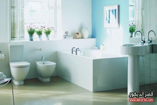 صور حمامات ايديال ستاندرد