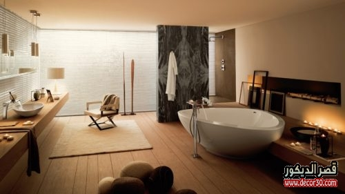 صور حمامات سيراميك ايديال