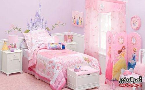صور دهان غرف نوم اطفال بناتي