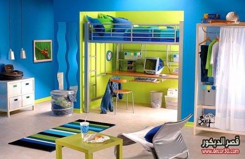 صور طلاء غرف اطفال