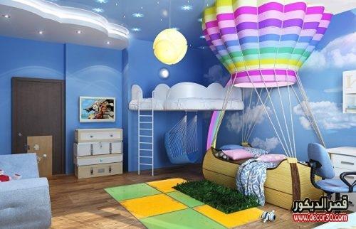 طلاء غرف اطفال اولاد