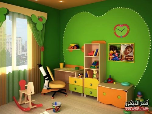 طلاء غرف اطفال