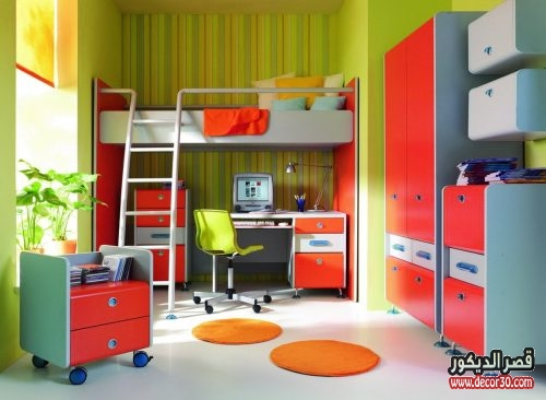 غرف نوم اطفال معدن