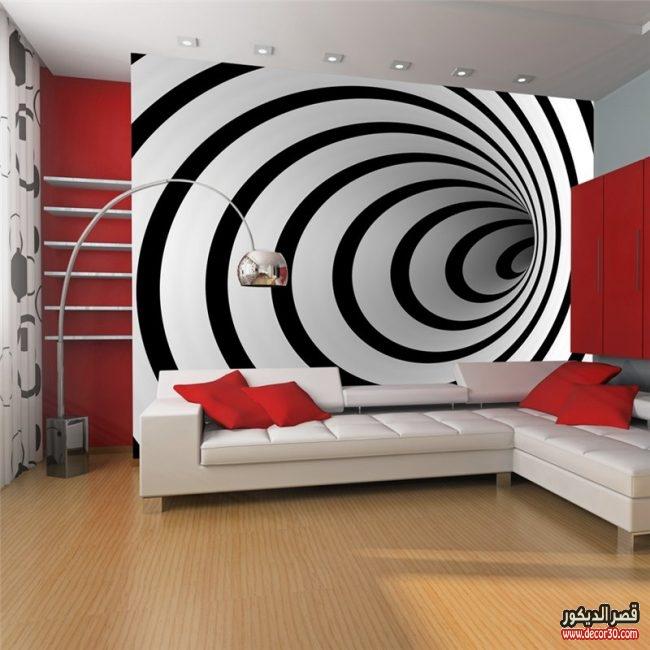 ورق حوائط ثلاثي الابعاد للريسبشن