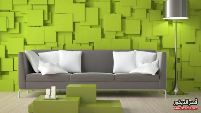 تصاميم ورق جدران ريسبشن ثلاثي الابعاد