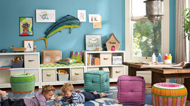 Attractive-CI-Serena-Lily-Kids-Playroom-Ideas-with-Rustic-Wooden-Table-also-Stuff