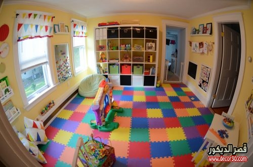 Decorative games room for children