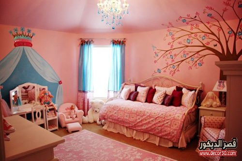 Modern decoration for girls rooms
