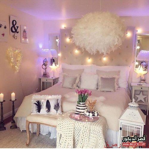 افكار لتزيين غرف النوم لعيد الزواج