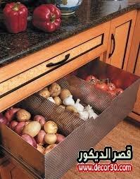 افكار لتنظيم المطبخ
