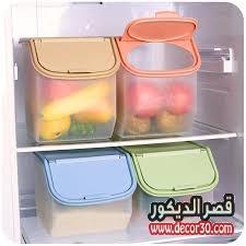 ترتيب الاطعمة في الثلاجة
