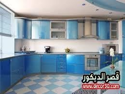 ترتيب المطبخ الواسع بالصور