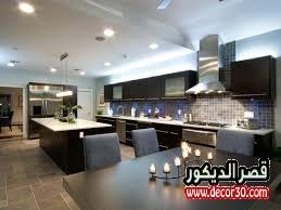 ترتيب المطبخ الواسع