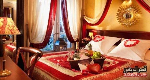 تزيين الغرفة بطريقة رومانسية